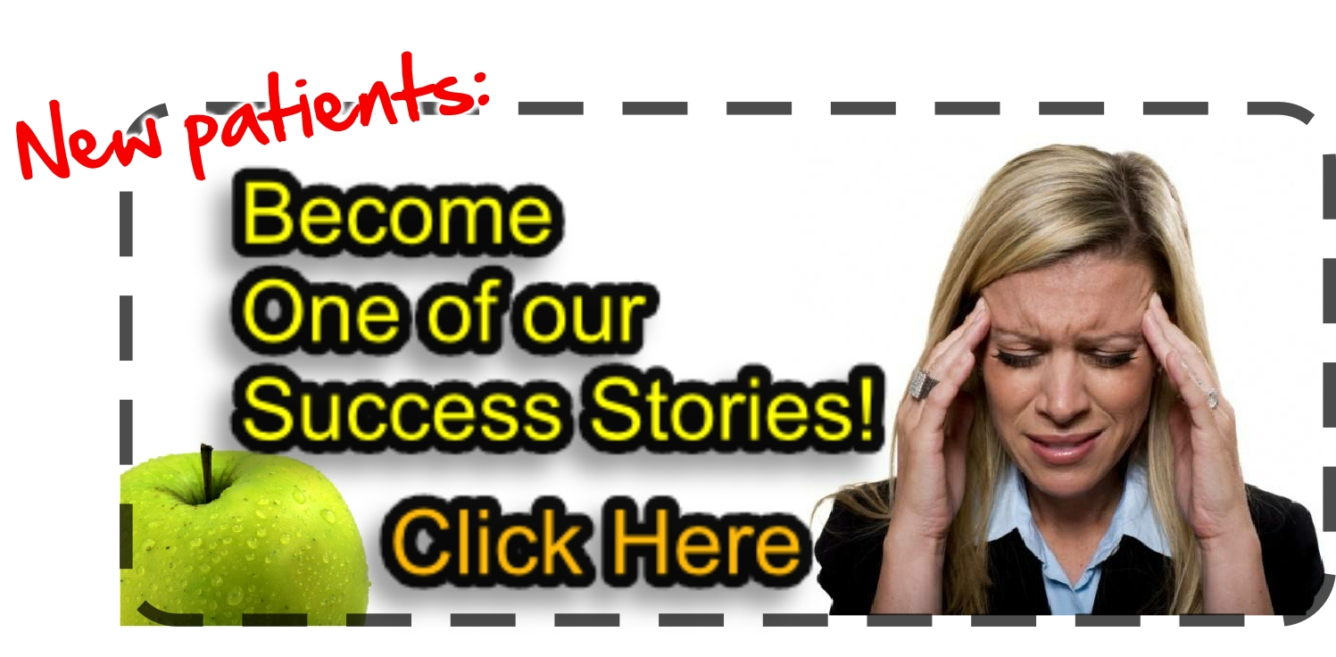 Become a Success Story - Stop in to ask us about your pain.