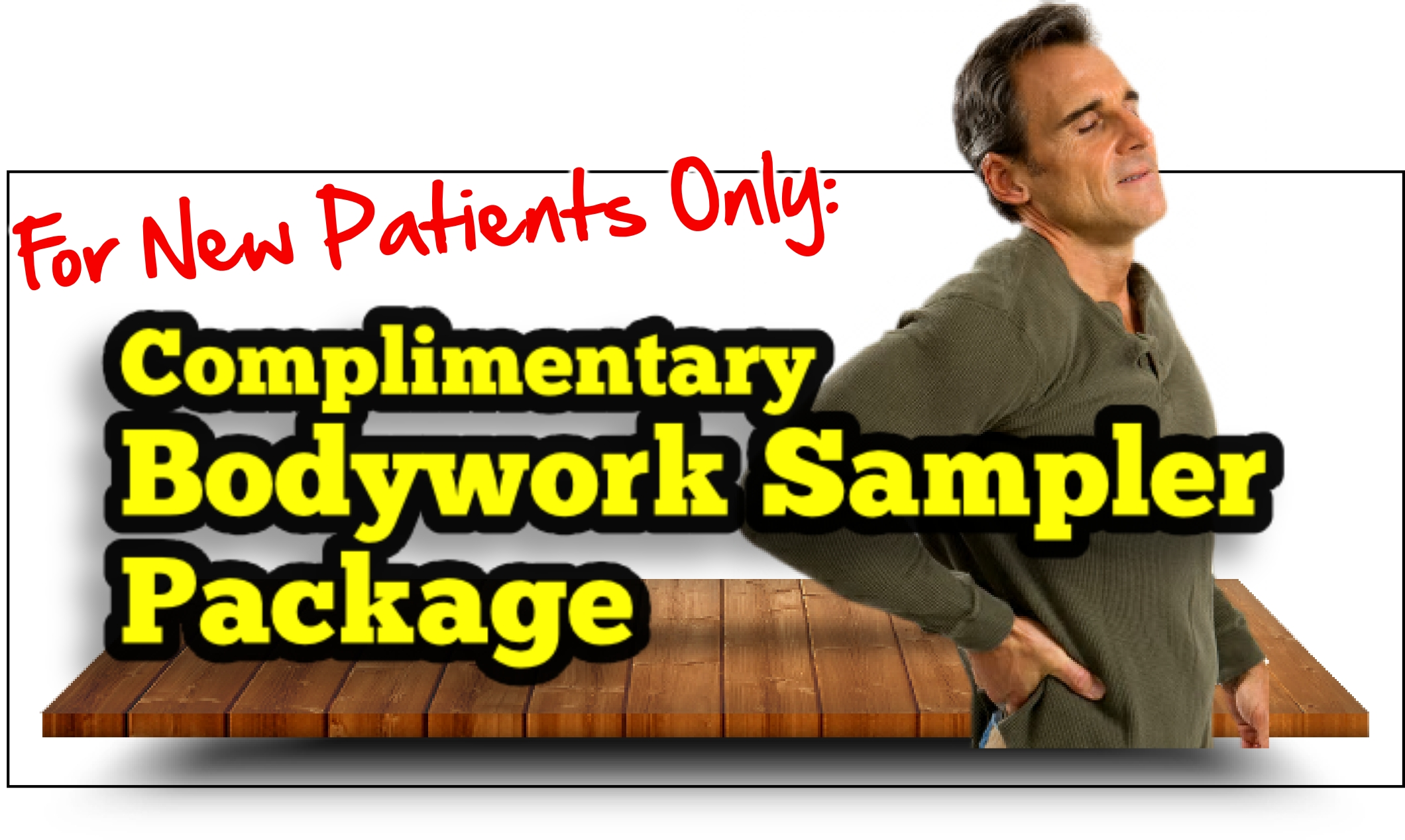 Low back pain? Let us help you get better with a free sampler package!